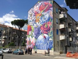 Roma come New York, periferia diventa tela per Street Art
