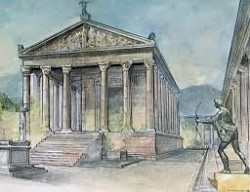 The House of Apollo as it is thought to have been