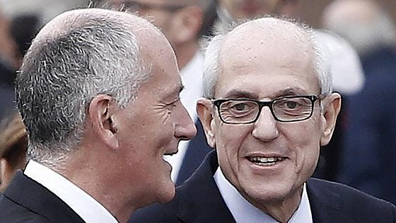 Franco Gabrielli and Francesco Tronca. Hopefully, they'll get things back on track